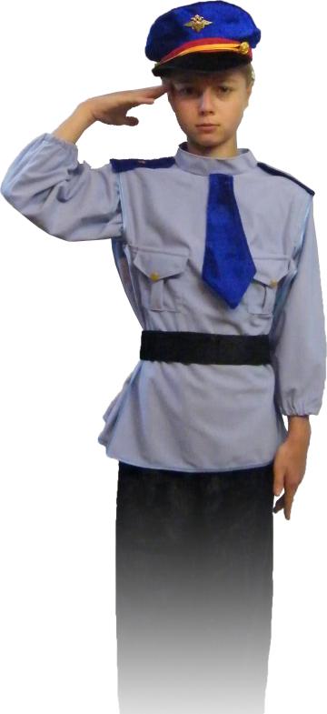 Как сделать костюм полицейского своими руками для
